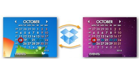 How To Sync Rainlendar Calendars For Free With Dropbox