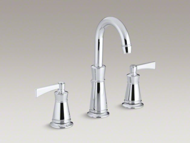 Kohler K 11076 4 Archer Widespread Sink Faucet With 8 Inch