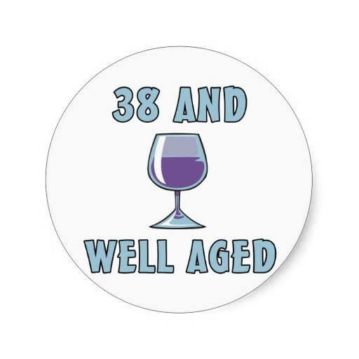 Reviews 38th Birthday Gifts Sticker 38th Birthday Gifts