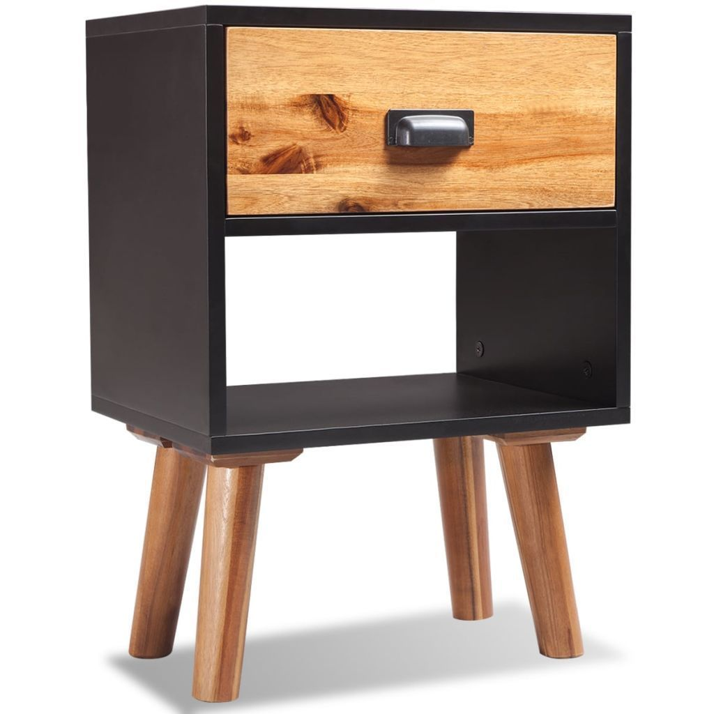 Best H4Home Mid Century Modern Bedside Cabinet Scandinavian 400 x 300