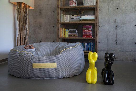 Large beanbag chair,round bean bag , floor cushion , ,beanbag chair ...