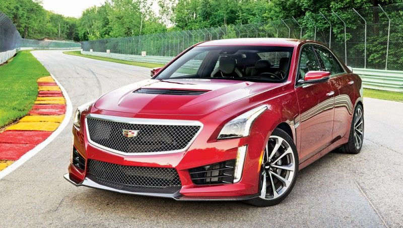 The New Cts V Sedan Is The Fastest And Most Powerful Cadillac Ever
