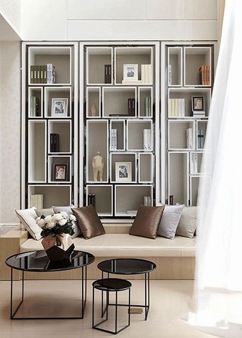 5 Things That Are Hot On Pinterest This Week Bookshelf Design Room Interior Living Room Interior