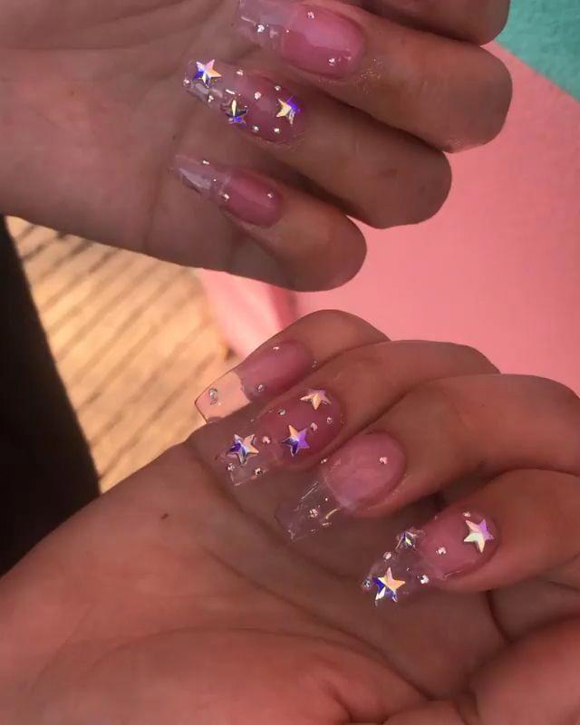 Omfgggg!!!! - Aesthetic acrylic nails - #Acrylic # ...