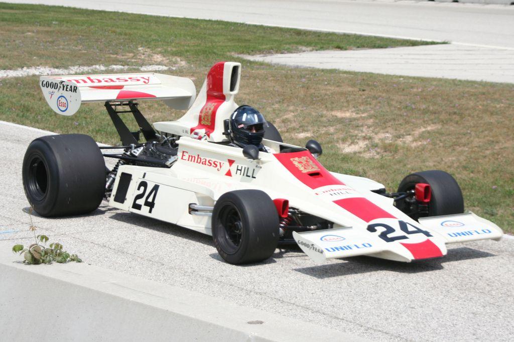 Embassy Hill Lola F1 Motorsport Historic Racing Race Cars
