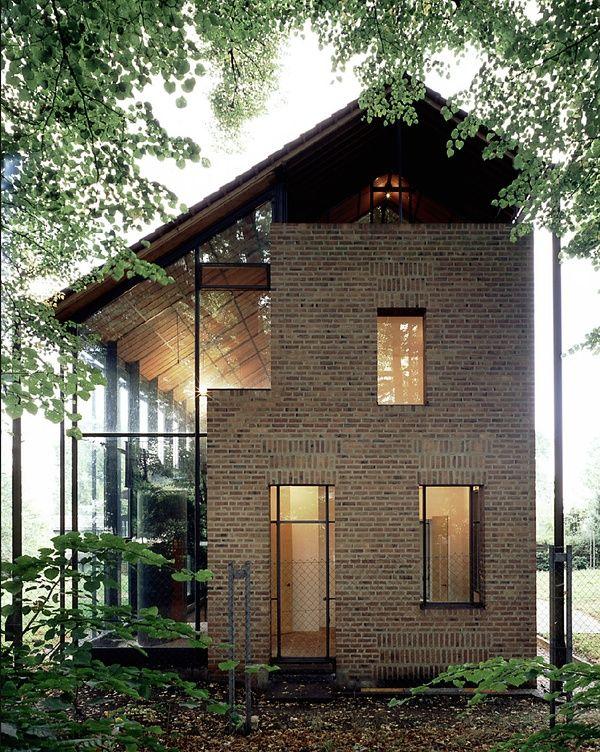 Haus Babanek By Heinz Bienefeld Awesome Ideas