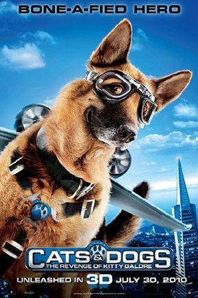 Family Friendly Movies For A Dollar At Regal Theaters Como Perros Y Gatos 2 Perro Gato Perros
