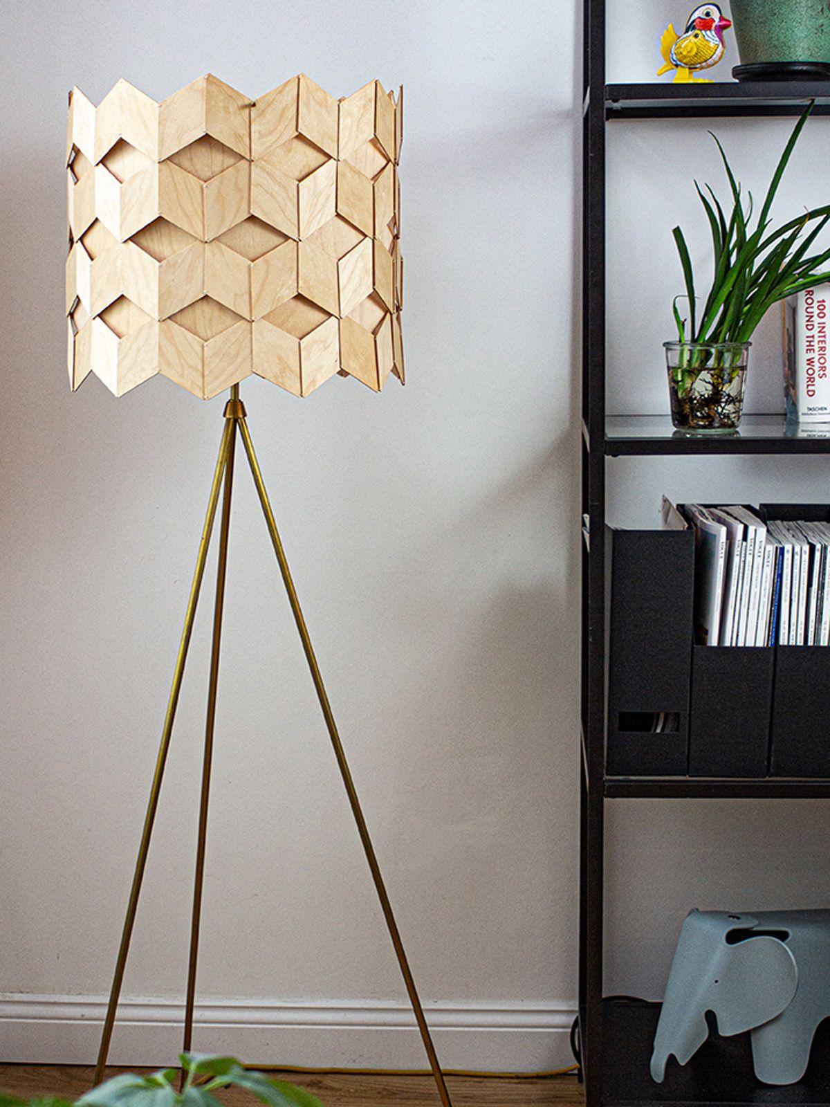 Ruutu Floor In 2020 Led Lampen Aus Holz Holzleuchte Und Design