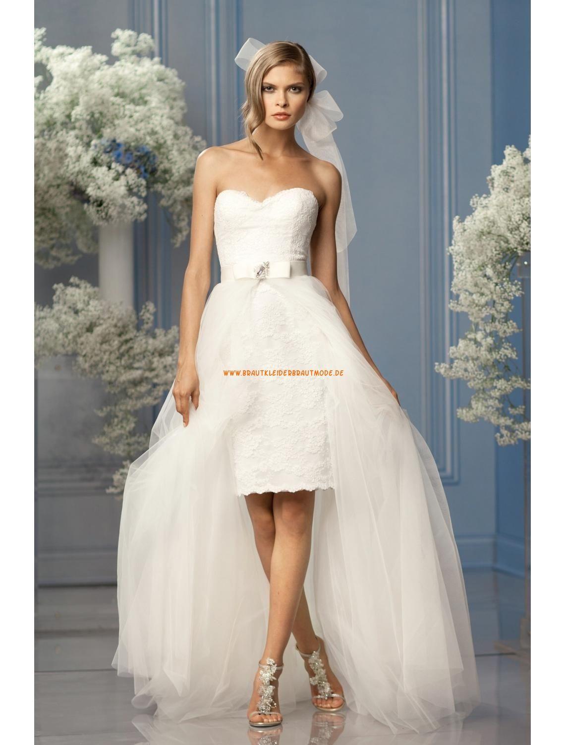 Süße Liebste Designe Brautkleider aus Softnetz | Romantische ...