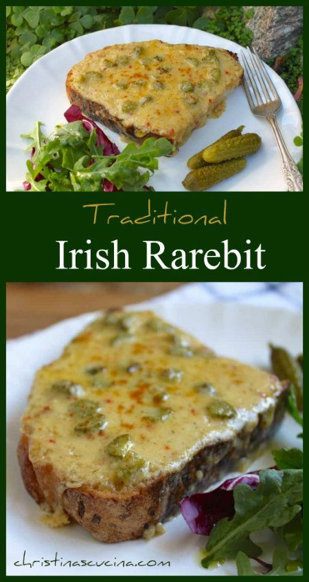 Castello Herbs & Spice Havarti and a Lovely Irish Rarebit