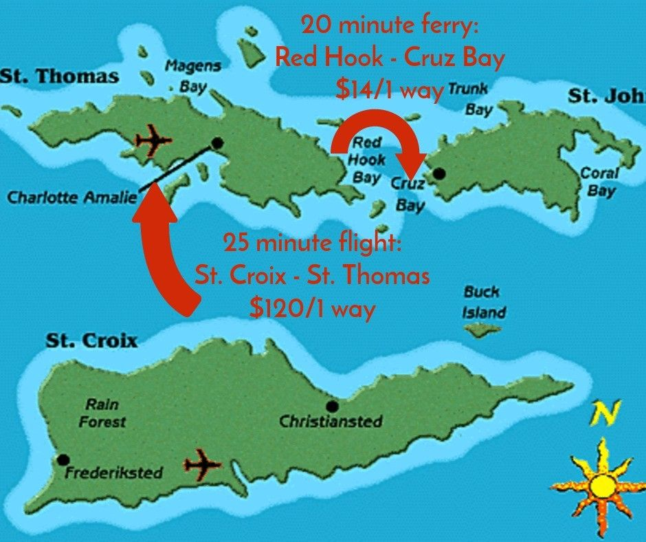 maps island hopping where is st croix the breakers at cane bay