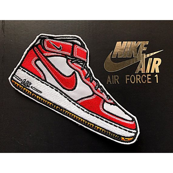 NIKE AIR FORCE 1 Patch | Etsy, Vintage, Gioielli