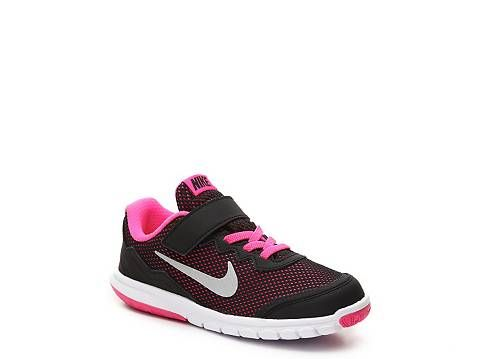 Nike Flex Experience 4 Girls Toddler & Youth Running Shoe