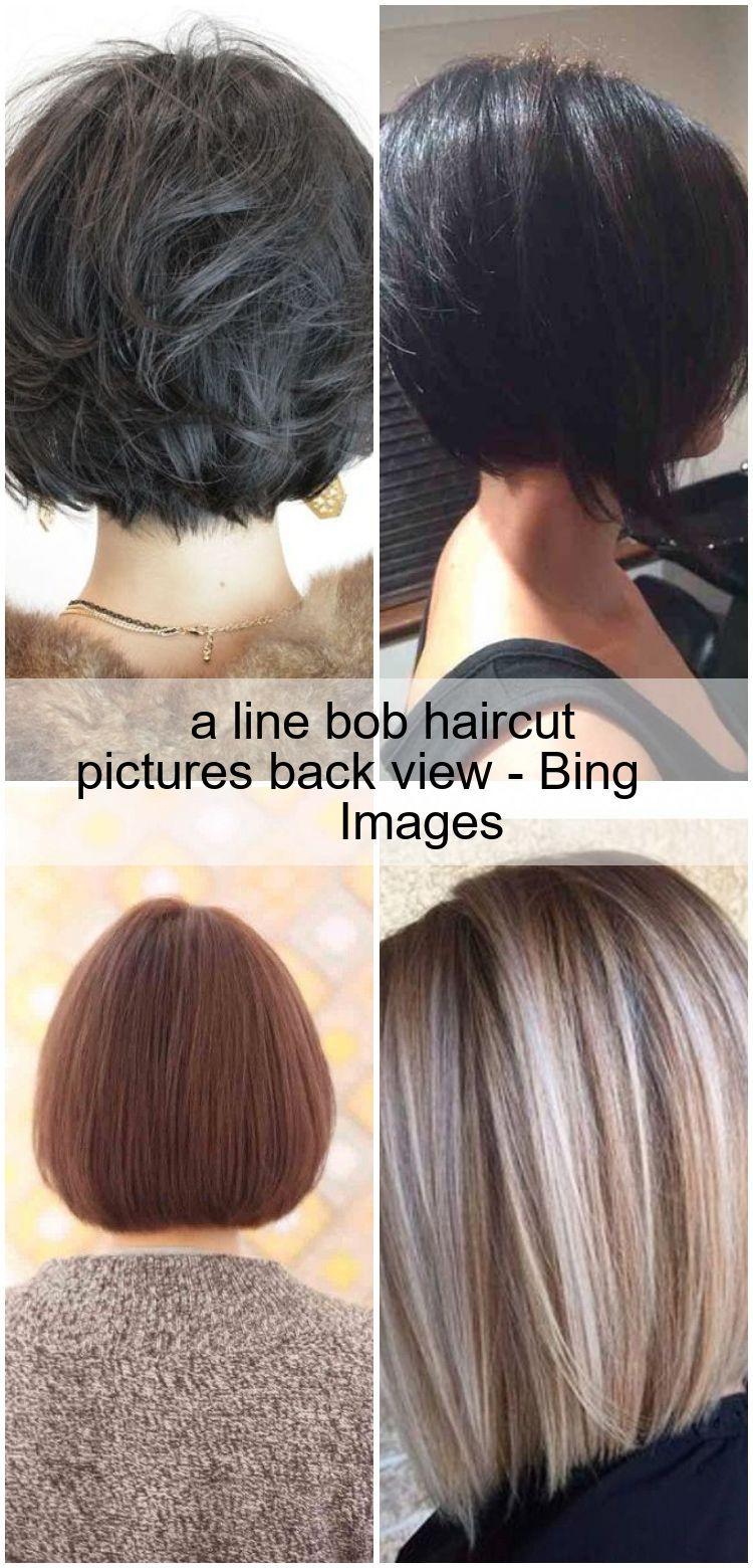 A Line Bob Haircut Pictures Back View Bing Images Haarschnitt Haare Schnittchen