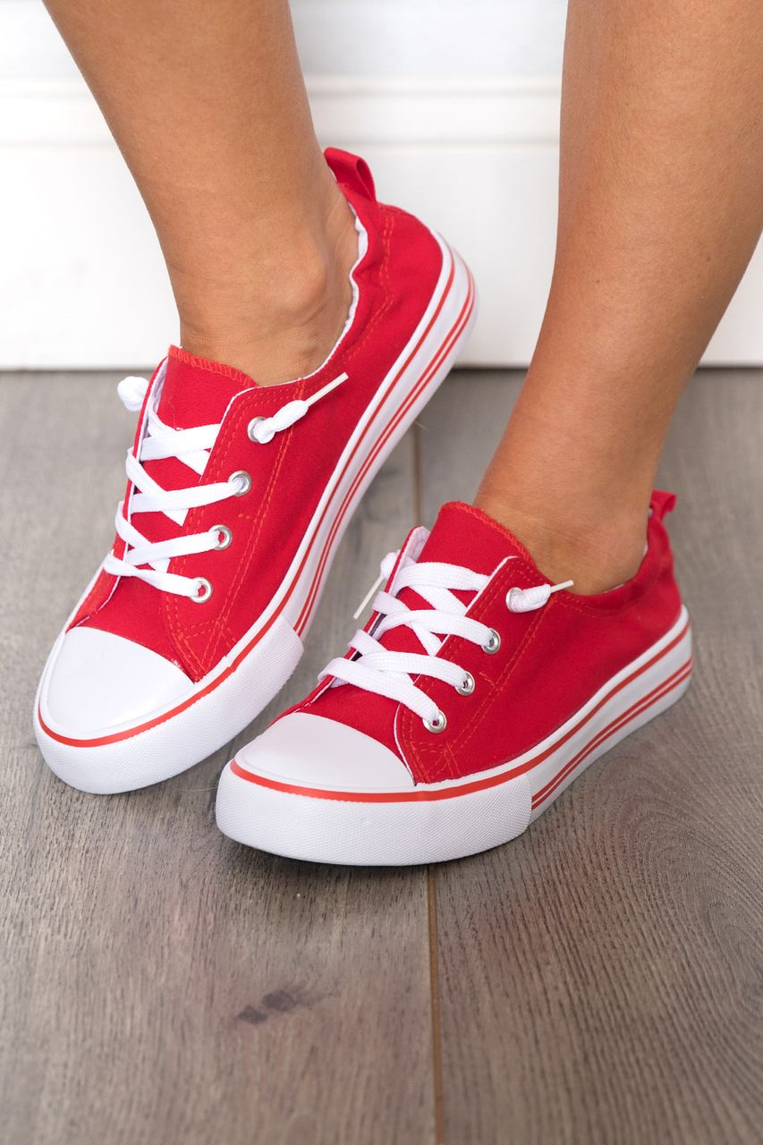 The Suzie Red Sneakers CLEARANCE | Wish list in 2019