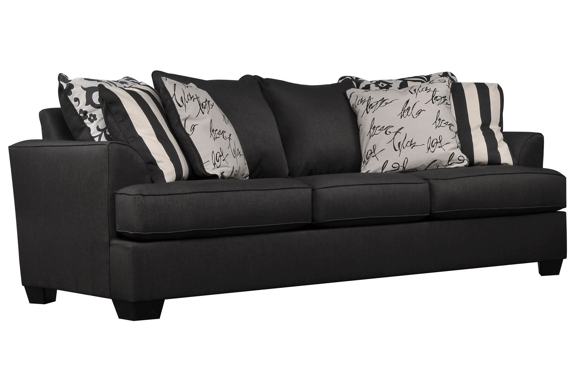 Levon Charcoal Sofa | Charcoal Sofa, Charcoal And Living Spaces