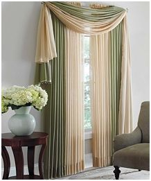 Brylane Home Sheer Valance For Only 3 59 Shipped 7 Cash Back