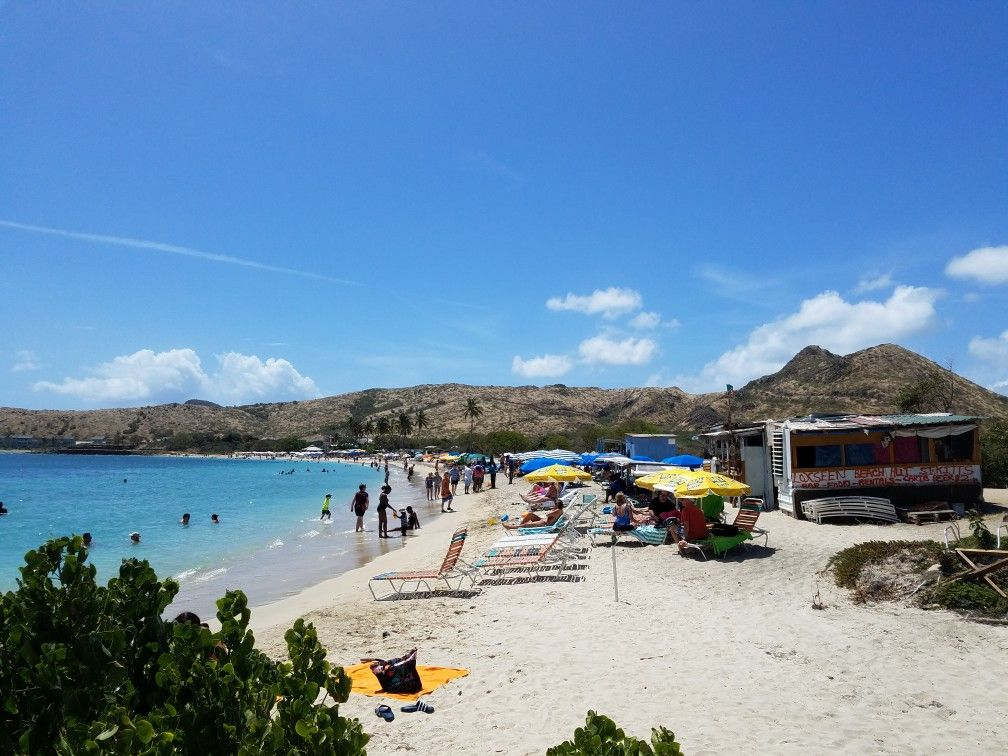 Cockleshell Beach In St. Kitts. NCL Gem Cruise March 2018