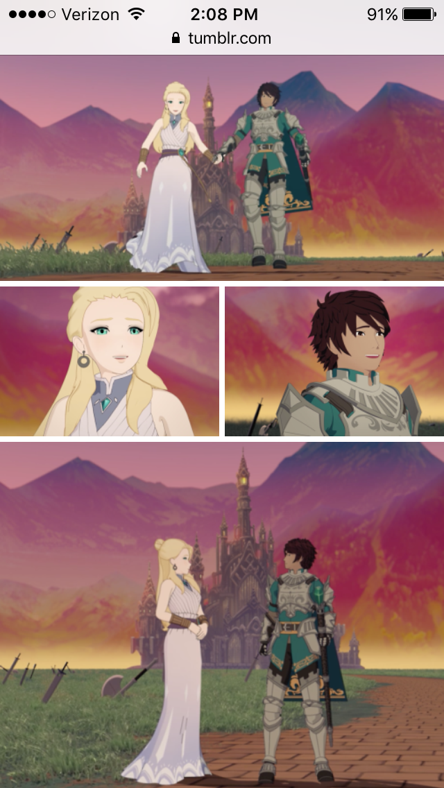 I Just Wanted Them To Be Happy 😭😭😭😭😭😭💘💔 Rwby Ozpin