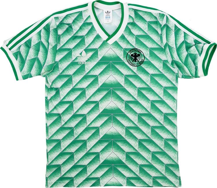 7acaabc8fb0 1988-91 West Germany Away Shirt L | Camisetas | Vintage football ...