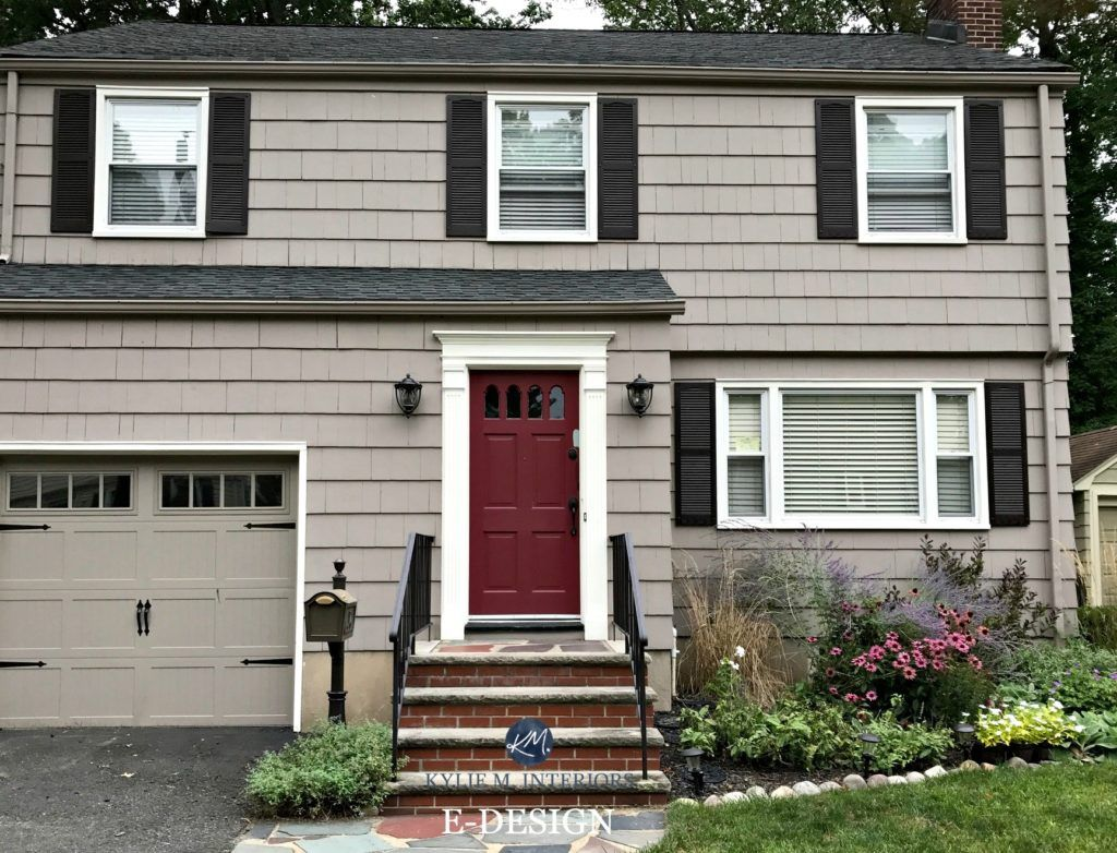 Benjamin Moore Affinity : The Best Neutral / Beige / Gray Paint Colours.  Exterior ...