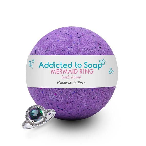 Pin On Charmed Aroma Bath Bombs With Jewelry