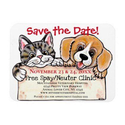 Creative Puppy Dog Cat Veterinarian Event Reminder Magnet    Creative Puppy Dog Cat Veterinarian Event Reminder Magnet