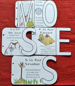 Bible Fun For Kids Moses The Bronze Snake Baby Moses Crafts