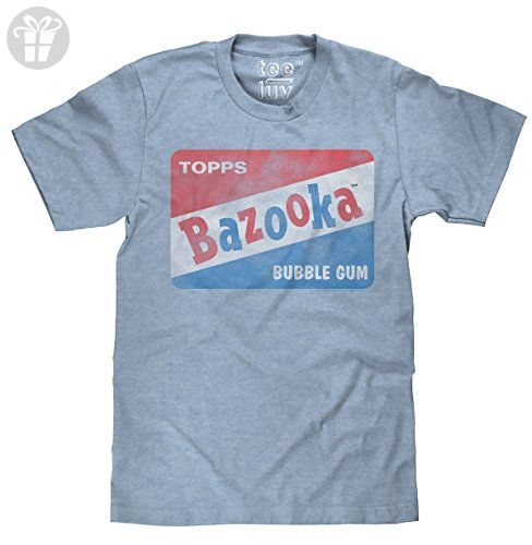 Vintage Bazooka Bubble Gum Licensed Topps T-shirt-medium (*Amazon Partner-Link)