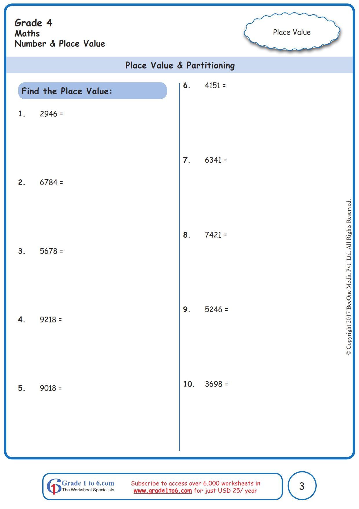 Pin On Grade 4 Math Worksheets Pyp Cbse Icse Common Core [ 1754 x 1239 Pixel ]