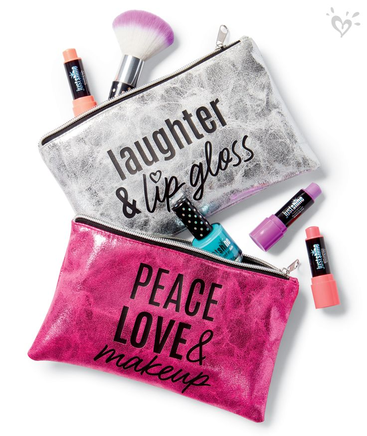 Tote your essentials beautifully in our Just Shine