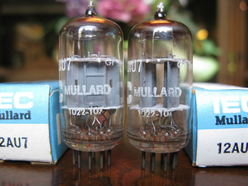 Iec New York Branded Mullard 12au7 Matched Pair Nos Vacuum Tubes Iec Mason Jar Lamp Tube Vacuum Tube