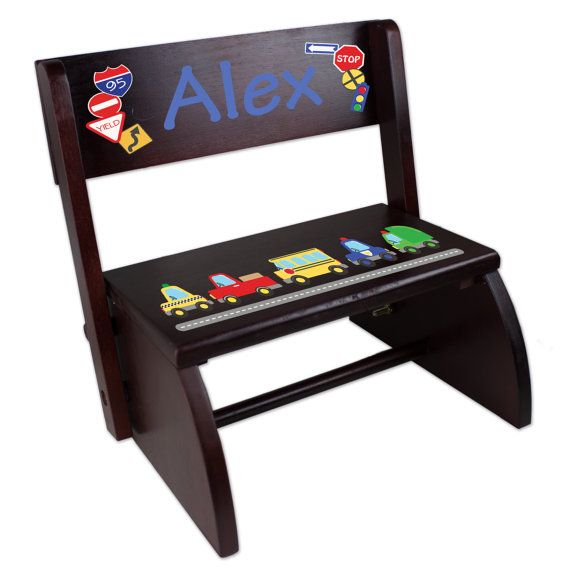 Strange Personalized Cars Trucks Transportation Step Stool By Ibusinesslaw Wood Chair Design Ideas Ibusinesslaworg