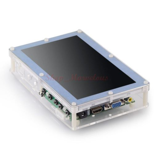 Details about 5 Inch LCD Screen Display Acrylic Case Stander
