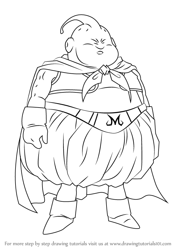 Learn how to draw fat buu from dragon ball z dragon ball z step learn how to draw fat buu from dragon ball z dragon ball z step publicscrutiny Image collections