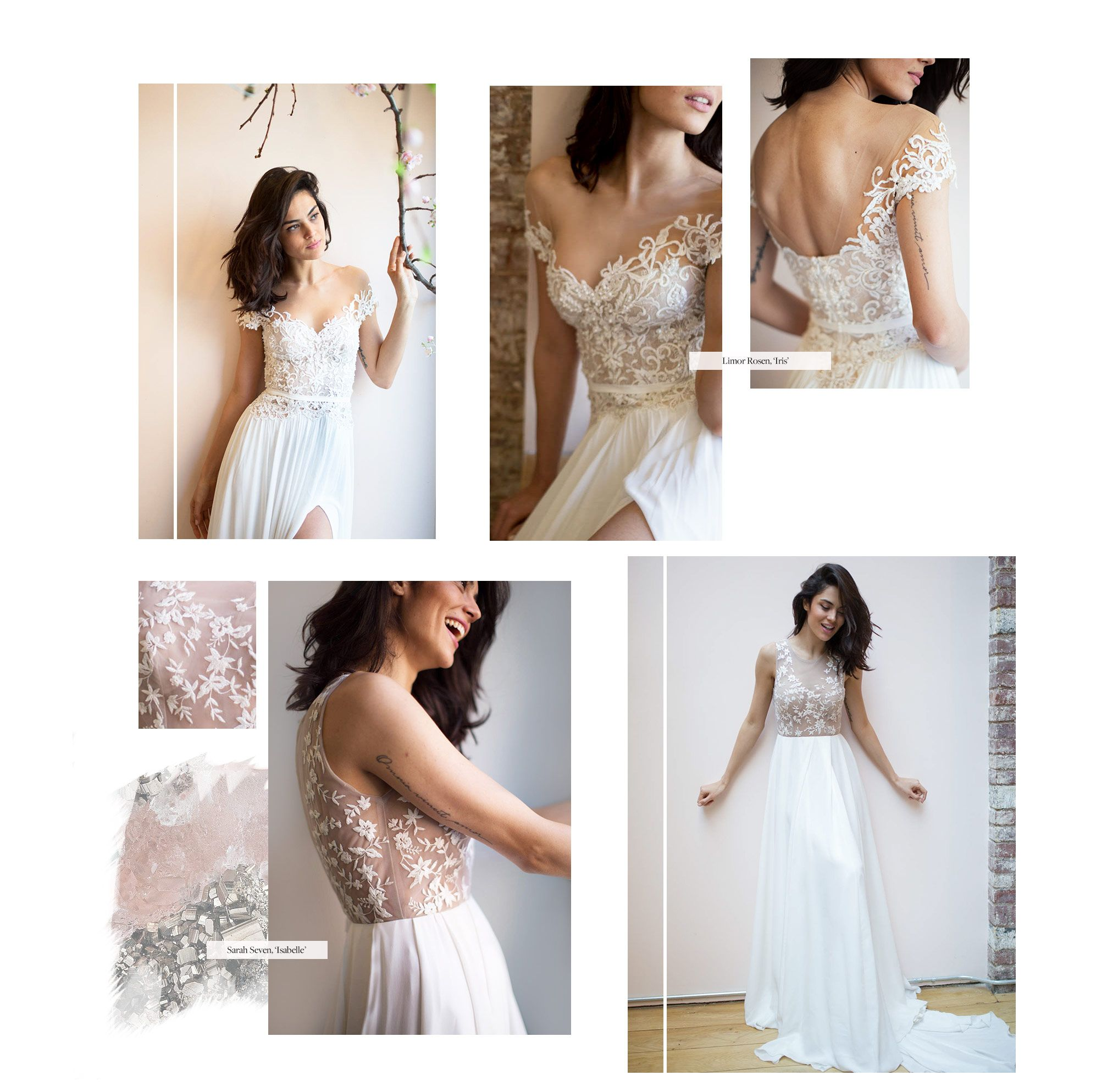 Bridal inspiration for wedding gowns, dresses, accessories with ...