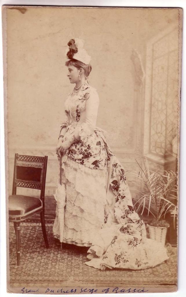 Grandduchess Elizaveta Fyodorovna 1880's