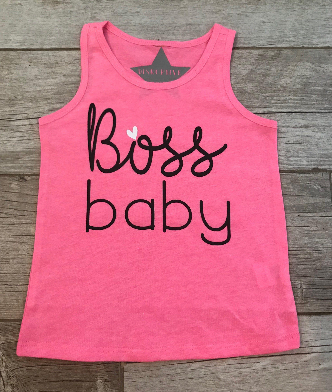 3abb1257 Boss Baby, Baby Boss Girls Top, Boss Baby Girls Sleeveless Top, Im ...