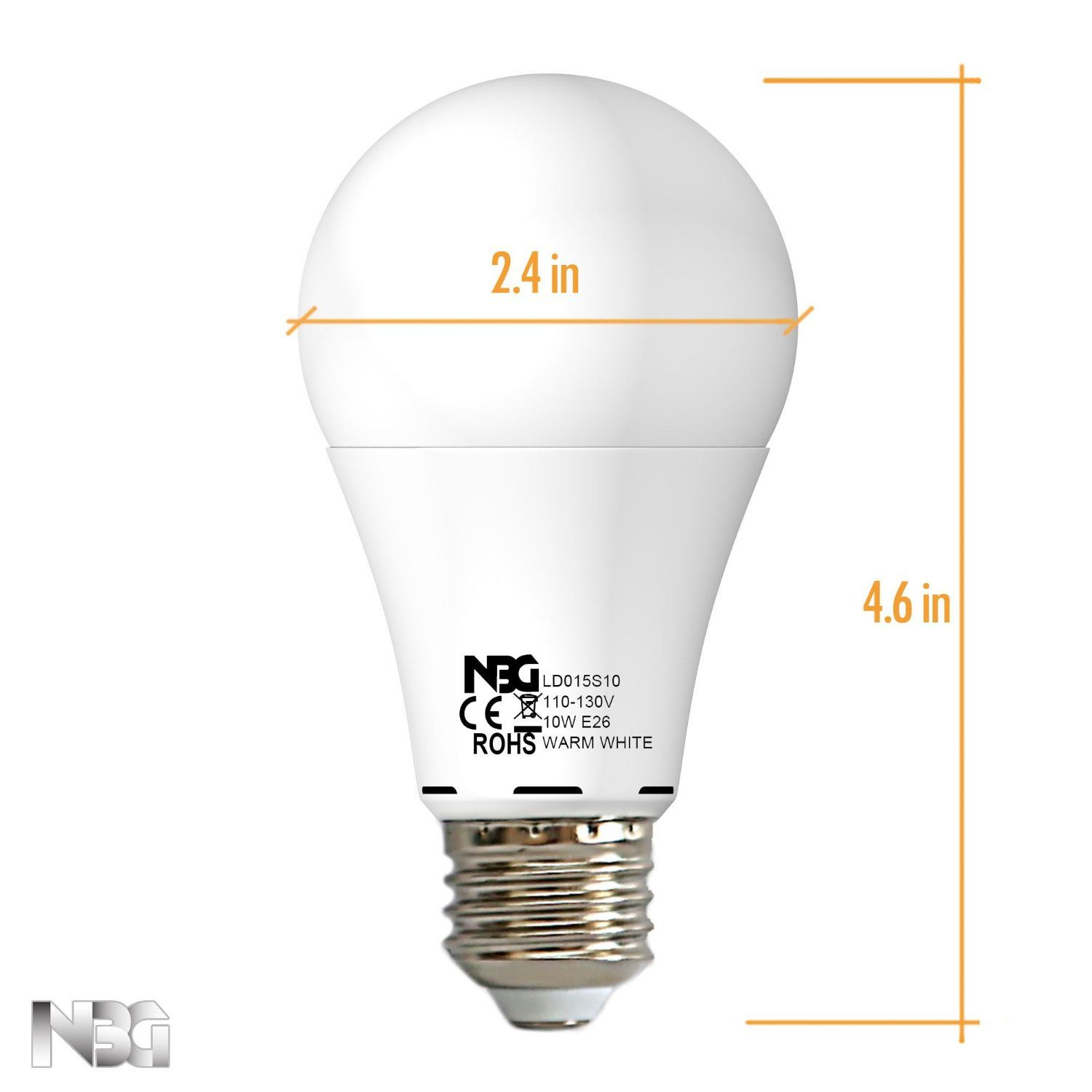 Nova Bg Introduce New Ledlight Bulbs With 10 Watt Non Dimmable Significant Energy Saving Mercury Free Equivalent Of Standar Led Light Bulbs Led Lights Bulb