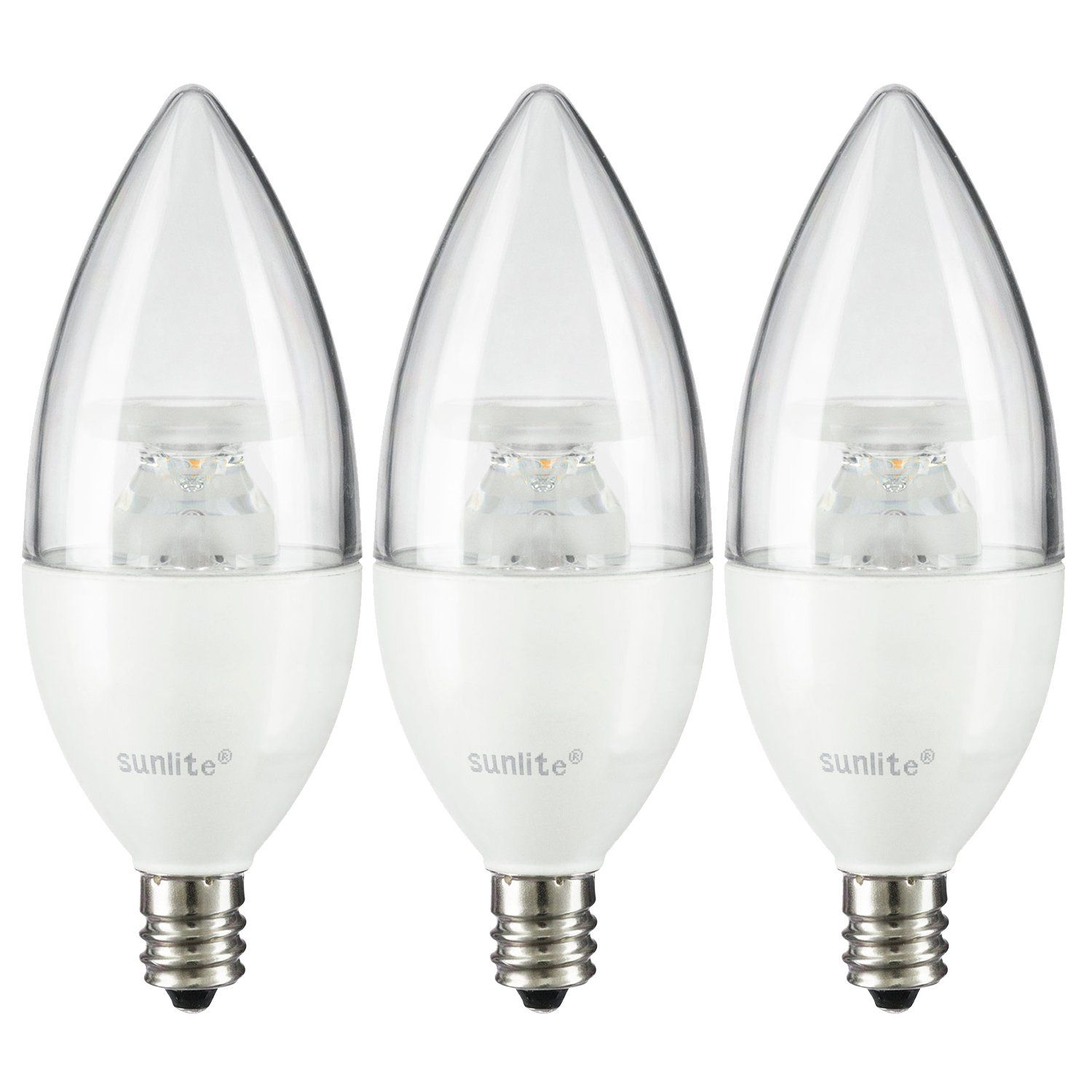 LED E12 120V AC Eq. to 40W Halogen Dimmable UL Approved