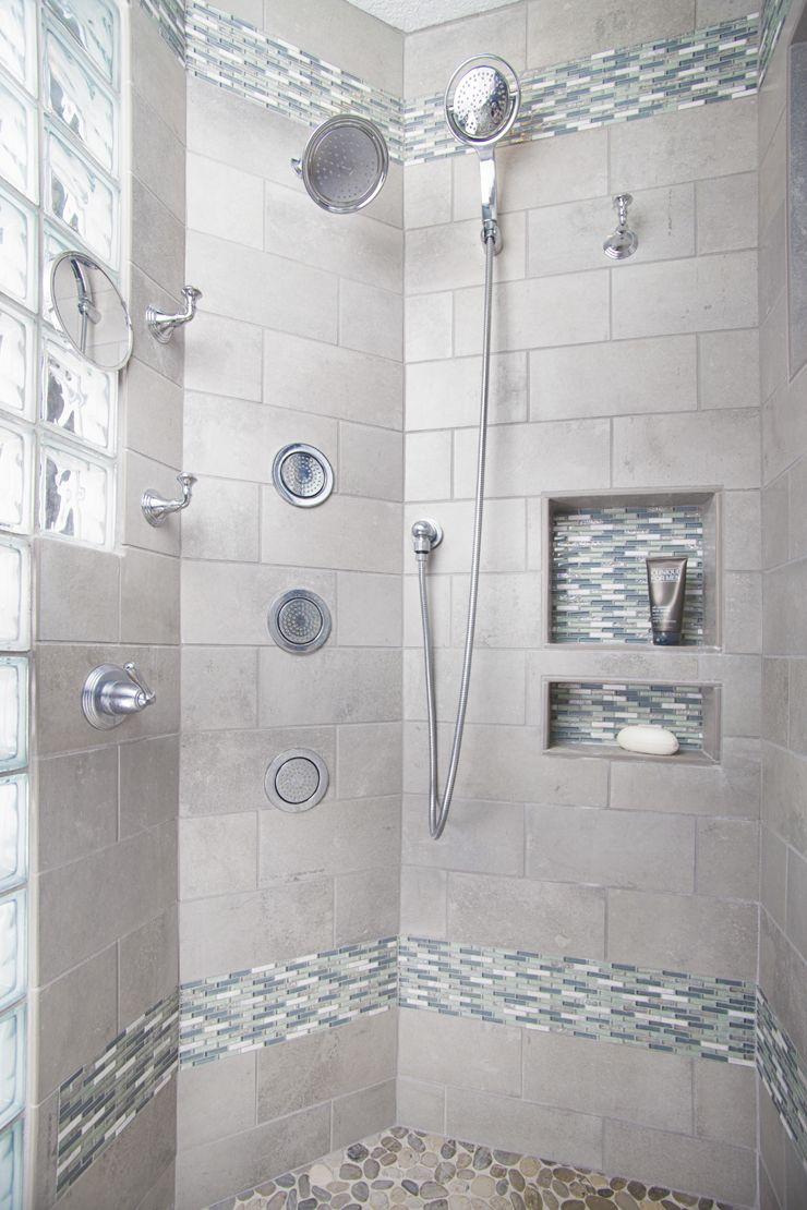 Bathroom remodel by Corvallis Custom Kitchens & Baths cckb.biz Gray ...