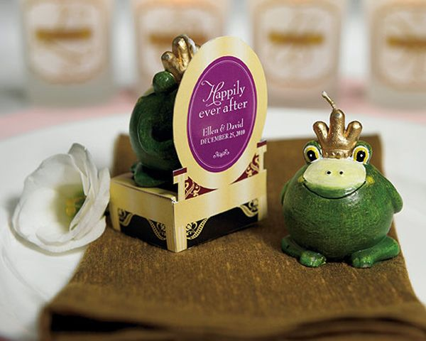 Princess Wedding Favor Ideas Frog Prince