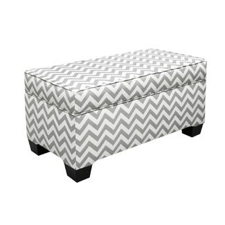 Terrific Chevron Ottoman With Storage Love Perfect For The End Of A Uwap Interior Chair Design Uwaporg