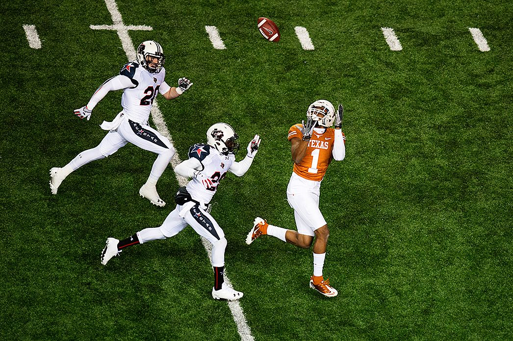 Mike Davis (1) Texas football, Texas longhorns, Texas