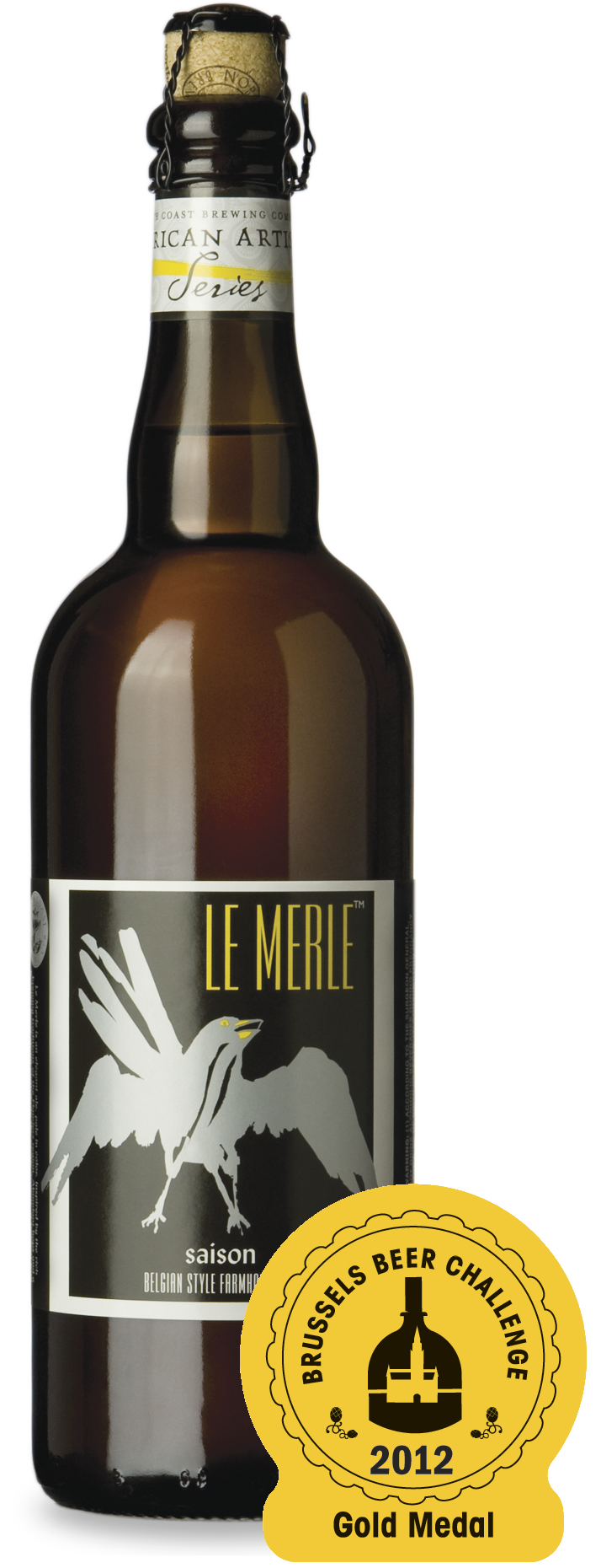Le Merle - 2012 Gold Medal Winner Brussels Beer Challenge!