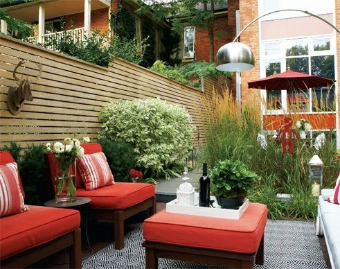 Design – Modern cool garden design in the backyard