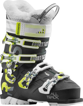 814717c5f50 Rossignol Women s Alltrack 80 Ski Boots Black Yellow Mondo 23.5