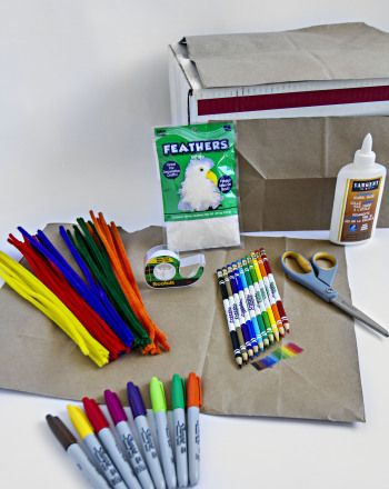 Cardboard Box Costumes -- this would definitely be a good opportunity to let your child's imagination run wild! Great group activity to incorporate cooperative learning