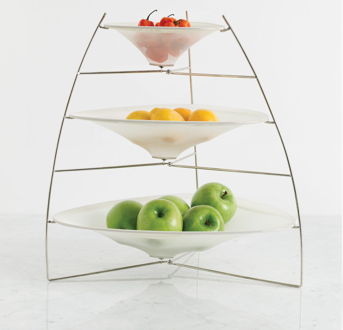 99dcdb5569 Three tiered fruit tray. The same one from Food Networks
