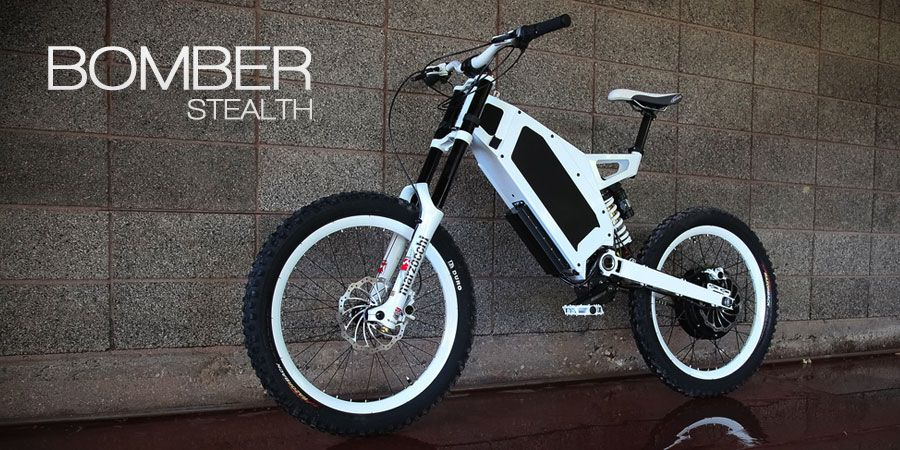 Stealth Electric Bikes Usa The Bomber Bici Electrica